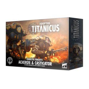 Games Workshop Adeptus Titanicus  Adeptus Titanicus Adeptus Titanicus: Cerastus Knights Acheron & Castigator - 99120399017 - 5011921133253