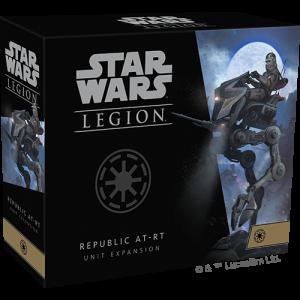 Fantasy Flight Games Star Wars: Legion  The Galactic Republic - Legion Star Wars Legion: Republic AT-RT Unit - FFGSWL71 - 841333111557