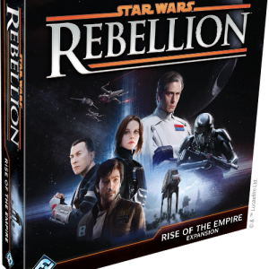 Fantasy Flight Games Star Wars: Rebellion  Star Wars Star Wars Rebellion: Rise of the Empire - FFGSW04 - 841333103736