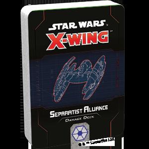 Fantasy Flight Games Star Wars: X-Wing  Separatist Alliance - X-wing Star Wars X-Wing: Separatist Alliance Damage Deck - FFGSWZ78 - 841333110949