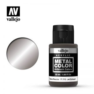 Vallejo   Metal Colour Metal Color - Jet Exhaust 32ml - VAL77713 - 8429551777131