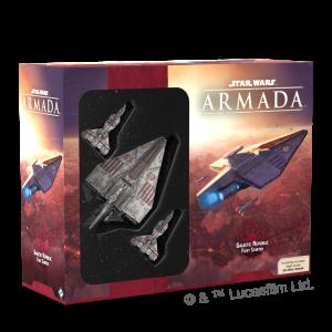 Fantasy Flight Games Star Wars: Armada  The Galactic Republic - Armada Star Wars Armada: Galactic Republic Fleet Starter - FFGSWM34 - 841333111724