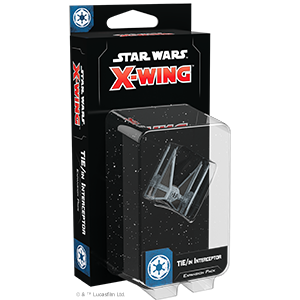 Fantasy Flight Games Star Wars: X-Wing  The Galactic Empire - X-wing Star Wars X-Wing: TIE/in Interceptor - FFGSWZ59 - 841333110253