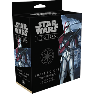Fantasy Flight Games Star Wars: Legion  The Galactic Republic - Legion Star Wars Legion: Phase I Clone Troopers Upgrade - FFGSWL55 - 841333109530