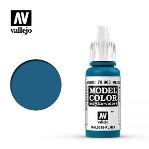 Vallejo   Model Colour Model Color: Medium Blue - VAL70963 - 8429551709637