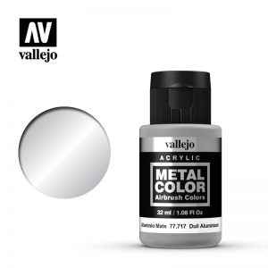 Vallejo   Metal Colour Metal Color - Dull Aluminium 32ml - VAL77717 - 8429551777179