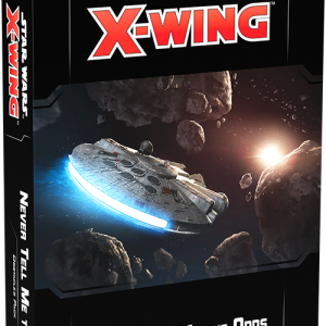 Fantasy Flight Games Star Wars: X-Wing  X-Wing Essentials Star Wars X-Wing: Never Tell Me the Odds Obstacles Pack - FFGSWZ64 - 841333110307