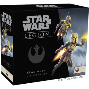 Fantasy Flight Games Star Wars: Legion  The Rebel Alliance - Legion Star Wars Legion: Clan Wren Unit - FFGSWL68 - 841333111526