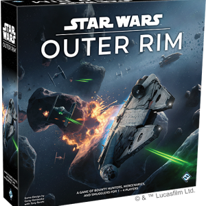 Fantasy Flight Games Star Wars: Outer Rim  Star Wars Star Wars: Outer Rim - FFGSW06 - 841333109103