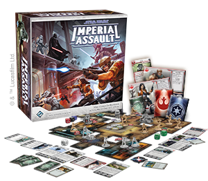 Fantasy Flight Games   Imperial Assault Essentials Imperial Assault: Core Set - FFGSWI01 - 9781616619909