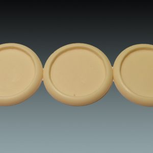 Baker Bases   Recessed Recessed: 50mm Round Bases (Lipped) (3) - CB-RS-03-50M - 5060439481455