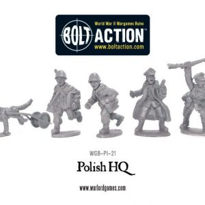 Warlord Games Bolt Action  Poland (BA) Polish HQ - WGB-PI-21 - 5060393700715
