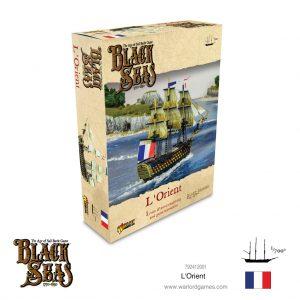 Warlord Games Black Seas  Black Seas Black Seas: L'Orient - 792412001 - 5060572505193