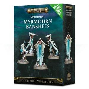 Games Workshop Age of Sigmar  Nighthaunts Easy To Build: Myrmourn Banshees - 99120207055 - 5011921099337