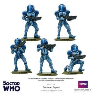 Warlord Games Doctor Who  Doctor Who Doctor Who: Sontaran Squad - 602210104 - 5060572500280