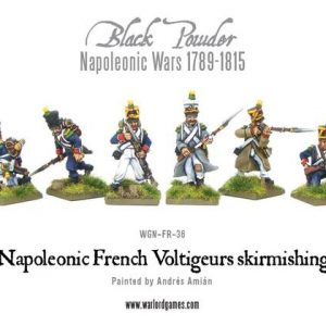 Warlord Games Black Powder  French (Napoleonic) French Voltiguers Skirmishing - WGN-FR-37 - 5060200846827