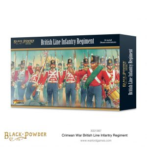 Warlord Games Black Powder  Crimean War Crimean War British Line Infantry Regiment - 302213807 - 5060572504356