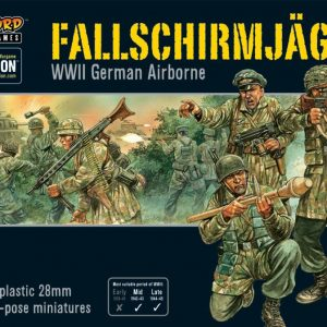 Warlord Games Bolt Action  Germany (BA) Fallschirmjager (plastic) - WGB-FJ-02 - 5060393702252