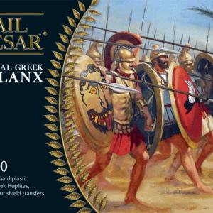 Warlord Games Hail Caesar  Classical World Greeks: Classical Greek Phalanx (40) - WGH-GR-3 - 5060200843321