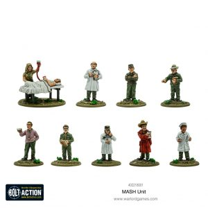 Warlord Games Bolt Action  Korean War (1950-1953) MASH unit - 402218001 - 5060572503687