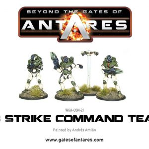 Warlord Games Beyond the Gates of Antares  PanHuman Concord Concord C3 Strike Command Team - WGA-CON-21 - 5060393701491