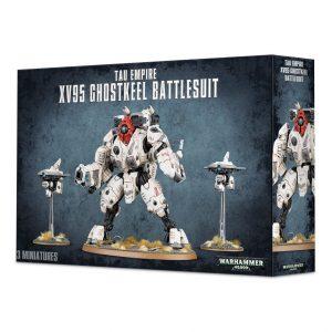 Games Workshop Warhammer 40,000  T'au Empire T'au XV95 Ghostkeel Battlesuit - 99120113059 - 5011921091935