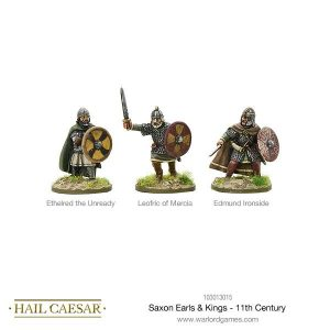 Warlord Games Hail Caesar  The Dark Ages Saxon Earls & Kings - 11th Century - 103013015 -