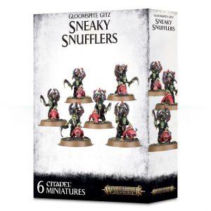 Games Workshop Age of Sigmar  Gloomspite Gitz Gloomspite Gitz Sneaky Snufflers - 99120209048 - 5011921112210