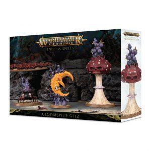 Games Workshop (Direct) Age of Sigmar  Gloomspite Gitz Endless Spells Gloomspite Gitz - 99120209061 - 5011921118243