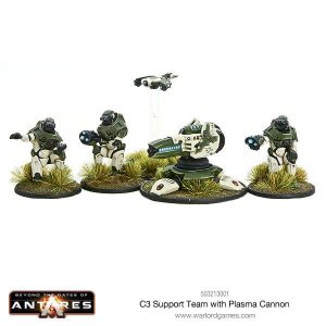 Warlord Games Beyond the Gates of Antares  PanHuman Concord C3 Concord Plasma Cannon - WGA-CON-503213001 -