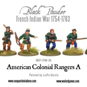 Warlord Games Black Powder  American War of Independence Colonial Rangers - WG7-FIW-24 - 5060200847596