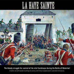 Warlord Games Black Powder  British (Napoleonic) La Haye Sainte - Farmhouse Set - WGN-START-01 -