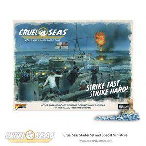 Warlord Games Cruel Seas  Cruel Seas Cruel Seas Starter Set - 789910004 - 5060393709671