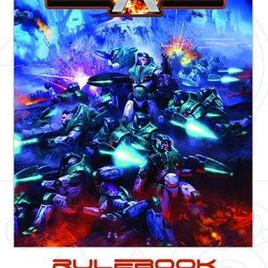 Warlord Games Beyond the Gates of Antares  Antares Essentials Beyond the Gates of Antares Rulebook - 501010002 - 9780993058905
