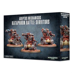Games Workshop Warhammer 40,000  Adeptus Mechanicus Adeptus Mechanicus Kataphron Battle Servitors - 99120116020 - 5011921091881