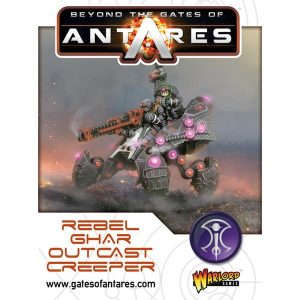 Warlord Games Beyond the Gates of Antares  Ghar Rebels Ghar Outcast Rebel Creeper - 502415001 - 5060393704539