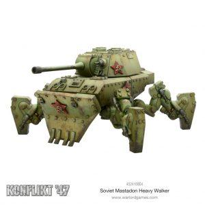 Warlord Games Konflikt '47  Soviet Union (K47) Soviet Mastadon Heavy Walker - 452410804 - 5060393709206