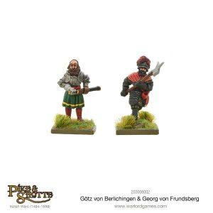 Warlord Games Pike & Shotte  Italian Wars 1494-1559 Gotz Von Berlichingen & Georg Von Frundsberg - 203006002 - 5060393707257
