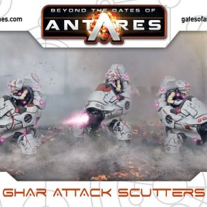 Warlord Games Beyond the Gates of Antares  Ghar Empire Ghar Attack Scutters - WGA-GAR-08 - 5060393703778