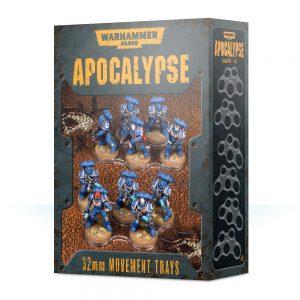 Games Workshop Warhammer 40,000  Apocalypse Warhammer 40,000 Apocalypse Movement Trays (32mm) - 99220199072 - 5011921119837
