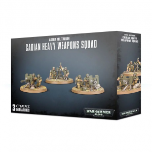 Games Workshop Warhammer 40,000  Astra Militarum Astra Militarum Cadian Heavy Weapon Squad - 99120105079 - 5011921113781