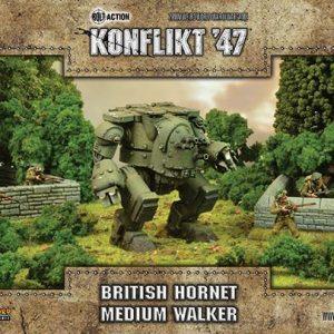 Warlord Games Konflikt '47  British (K47) British Hornet Medium Walker - 452410607 - 5060393708421