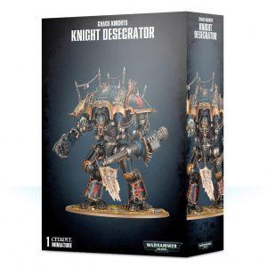 Games Workshop Warhammer 40,000  Chaos Knights Chaos Knights Desecrator - 99120102105 - 5011921117888