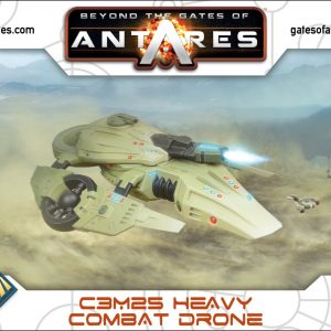 Warlord Games Beyond the Gates of Antares  PanHuman Concord C3M25 Heavy Combat Drone - 502413004 - 5060393709190