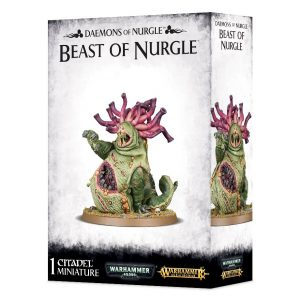 Games Workshop Warhammer 40,000 | Age of Sigmar  Maggotkin of Nurgle Beast of Nurgle - 99129915044 - 5011921092475