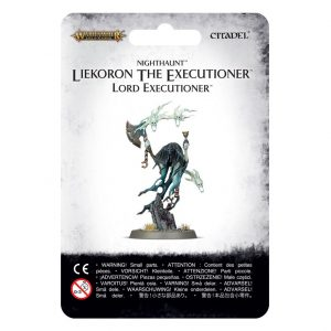 Games Workshop Age of Sigmar  Nighthaunts Nighthaunt Liekoron The Executioner - 99070207008 - 5011921100842