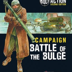 Warlord Games Bolt Action  Bolt Action Books & Accessories Bolt Action: Battle of the Bulge - 401010002 - 9781472817839