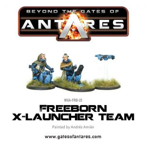 Warlord Games Beyond the Gates of Antares  Freeborn Freeborn X launcher Team - WGA-FRB-23 - 5060393702078