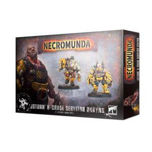 Games Workshop Necromunda  Necromunda Necromunda: 'Jotunn' H-Grade Industrial Servitor Ogryns - 99120599020 - 5011921133284