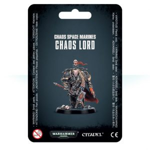 Games Workshop Warhammer 40,000  Chaos Space Marines Chaos Space Marine Lord - 99070102014 - 5011921116690